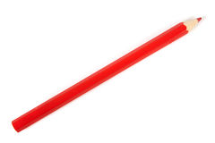 Red wooden pencil Royalty Free Stock Photos
