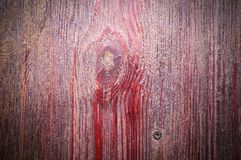 Red wooden plank texture with vignette. background. Red wooden siding plank texture with vignette. background stock image