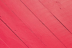 Red Wooden Slats Background Stock Images
