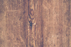 Red wooden texture. Vintage rustic style. Natural surface, background and wallpaper Stock Photography