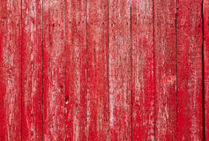 Red Wooden Vintage Style Texture. Royalty Free Stock Photography