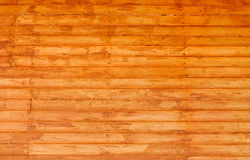 Red wooden wal Stock Photo