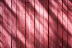 Red wooden wall Royalty Free Stock Photos