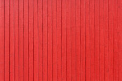 Red wooden wall Royalty Free Stock Photo