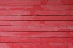 Red wooden wall Royalty Free Stock Photography