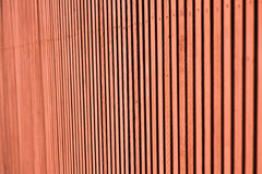Red wooden wall with old natural texture Stock Photo