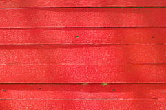 Red wooden wall Royalty Free Stock Image