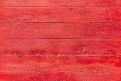 Red wooden wall texture Royalty Free Stock Photo
