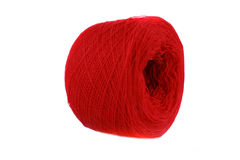 Red Wool Royalty Free Stock Photography