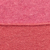 Red wool background. Close up Stock Photos