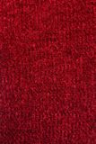 Red Wool background. Stock Photography