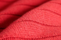 Red wool Royalty Free Stock Images