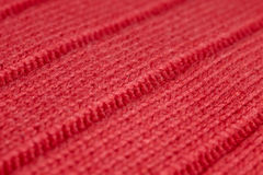 Red wool Stock Image