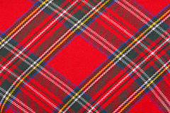 Red wool fabric texture Royalty Free Stock Photo