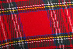 Red wool fabric texture Stock Photo