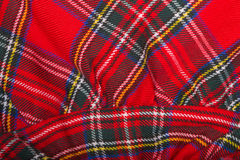Red wool fabric texture Stock Photos