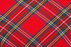 Red wool fabric texture Stock Photography