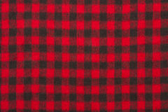 Red wool fabric texture Stock Image
