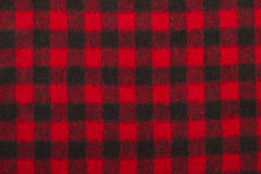 Red wool fabric texture Stock Images