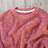 Red wool jumber Stock Photos