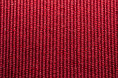 Red Wool Texture Stock Photography
