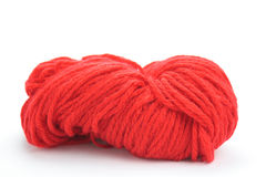 Red wool Royalty Free Stock Photos