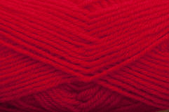 Red woolen thread closeup Royalty Free Stock Photography