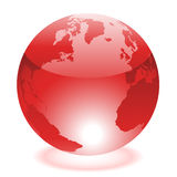 Red world Stock Image