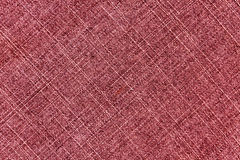 Red worn jeans cloth texture Royalty Free Stock Photos