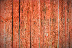 Red worn planks background. Wheatered red planks texture background Royalty Free Stock Images
