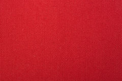 Red Woven Fabric Texture Background Royalty Free Stock Photography