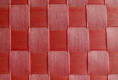 Red woven pattern Royalty Free Stock Image