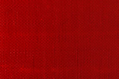 Red woven plastic cloth texture Royalty Free Stock Images