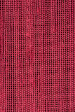 Red woven texture Stock Image