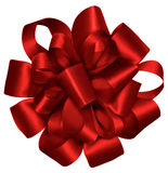 Red Wrapped Ribbon royalty free illustration