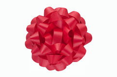 Red Wrapping Bow Royalty Free Stock Images