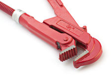 Red wrench Stock Images