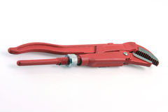 Red wrench Stock Photos