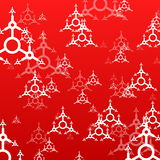 Red xmas background Stock Photography