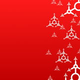 Red xmas background Royalty Free Stock Image