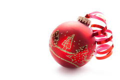 Free Red Xmas Ball Stock Photo - 15737450