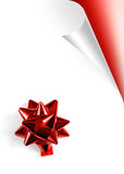 Red Xmas Page Royalty Free Stock Images