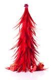 Red xmas tree decoration Stock Photography