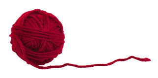 Free Red Yarn Royalty Free Stock Photos - 12816648