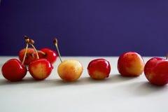 Red&yellow樱桃 库存照片