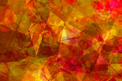 Red yellow abstract background Stock Images