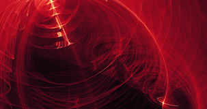 Red And Yellow Abstract Lines Curves Particles Background Stock Photos