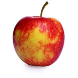 Red and Yellow Apple Stock Photo