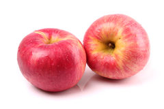 Red yellow apple Royalty Free Stock Photography