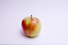 Red and yellow apple isolated on white background.  Royalty Free Stock Images